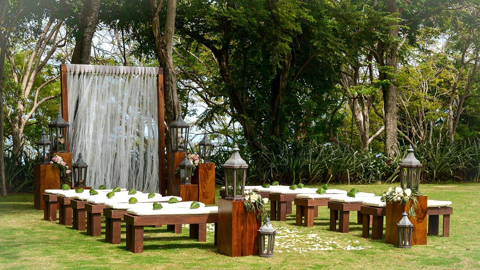 The Westin Golf Resort & Spa, Playa Conchal - Garden Ceremony Setup
