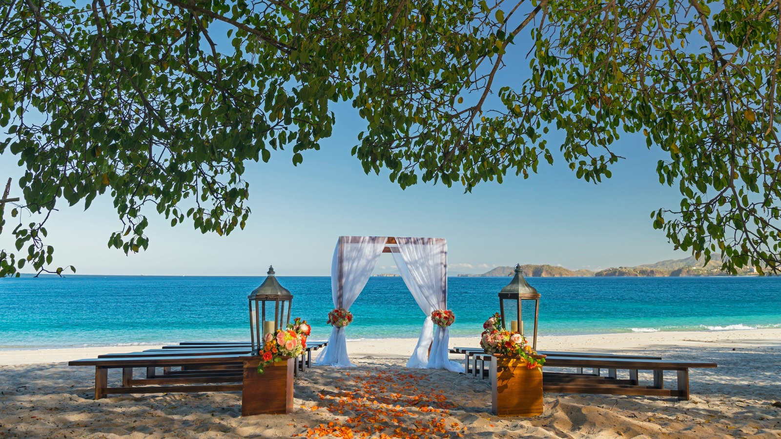 The Westin Golf Resort & Spa, Playa Conchal - Beach Ceremony Setup