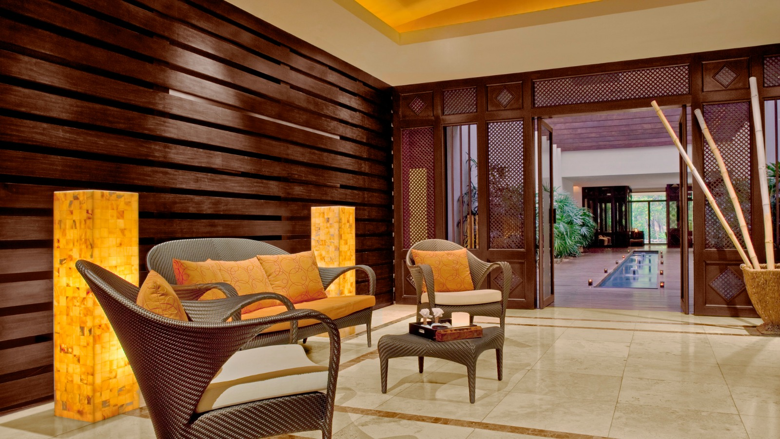 Salon Relax Foyer : Heavenly spa at westin playa conchal the golf